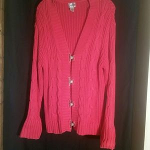 Chico size 3 woman's cardigan